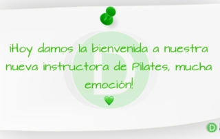 Nueva instructora de Pilates